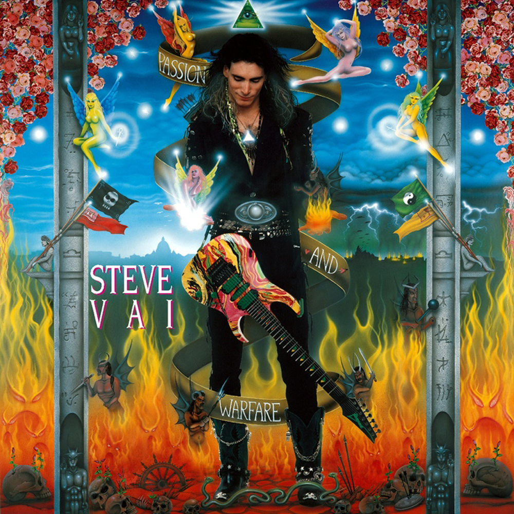 Steve Vai Passion and Warfare
