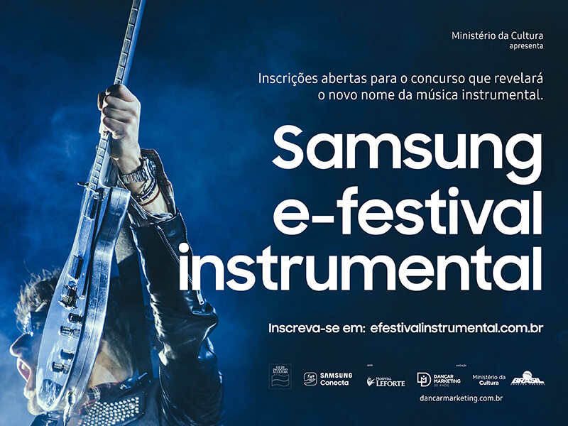 Samsung E-Festival – Inscrições