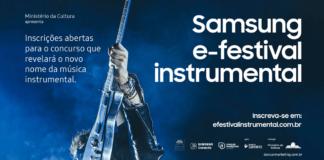 Imagem de divulgação do Samsung E-Festival Instrumental 2018