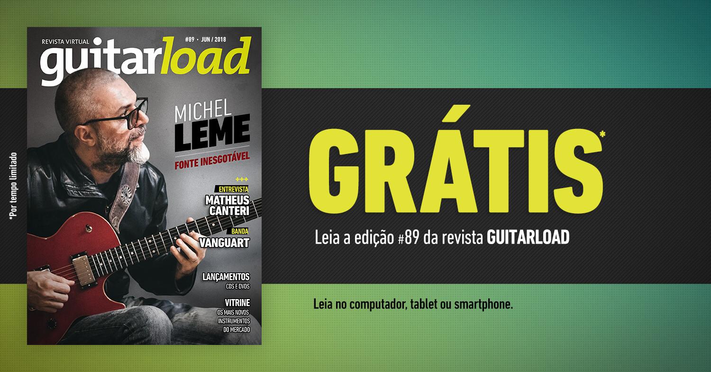 Imagem de divulgação da nova edição da revista Guitarload