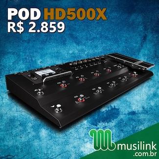 Musilink (Mês 1) – POD HD500X 1