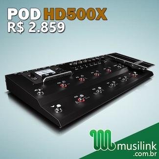 Musilink (Mês 1) – POD HD500X 2